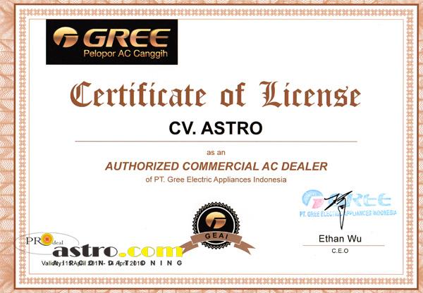 Dealer Resmi AC Gree Indonesia